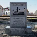 Antelope Memorial front