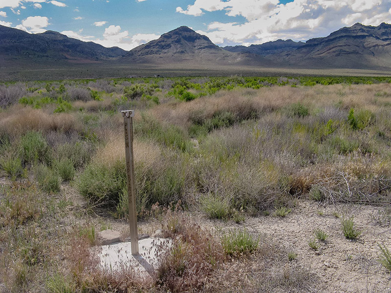 Fish Springs Station, UT (station marker)
