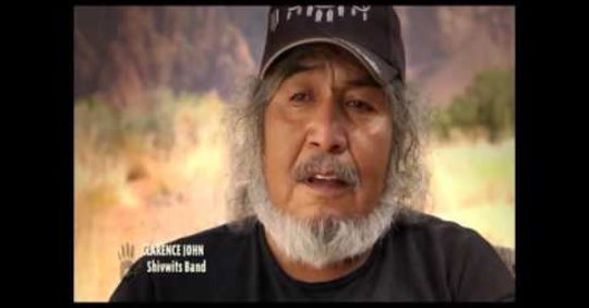 Still from video about Native American tribes of Utah