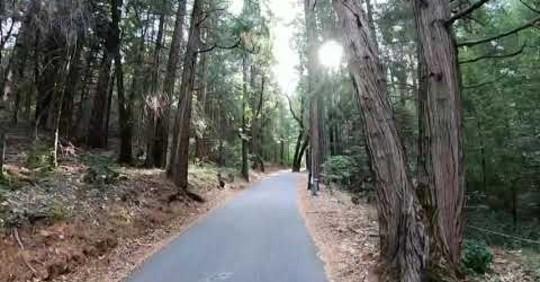 Bike path, South Lake Tahoe, CA