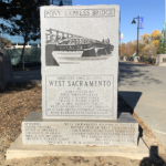 Pony Express Bridge Monument–Front