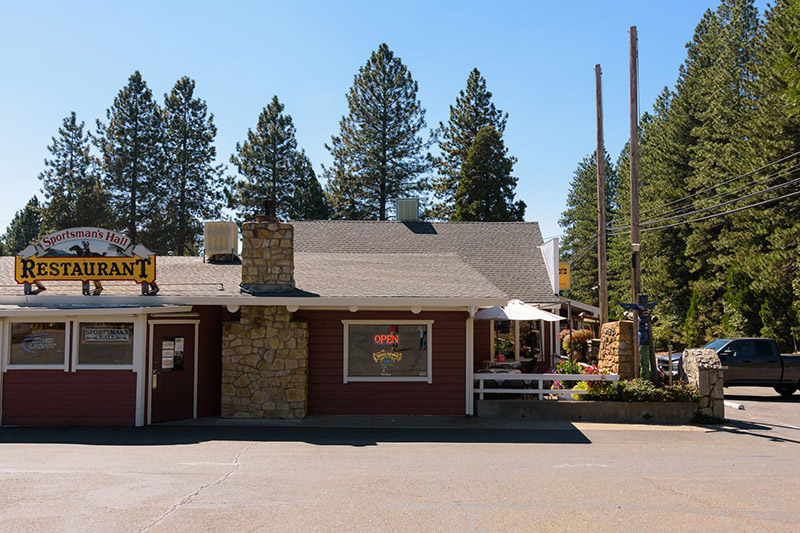 Sportsman's Hall, CA