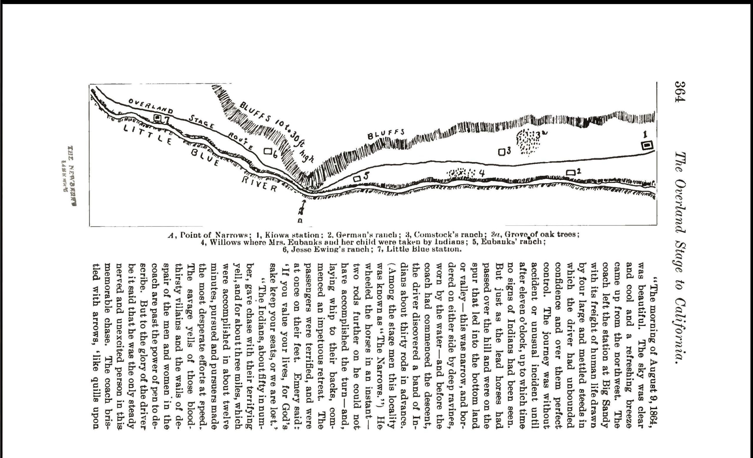 Map of The Narrows