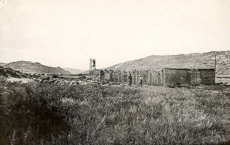 Three Crossings Station, WY 1870